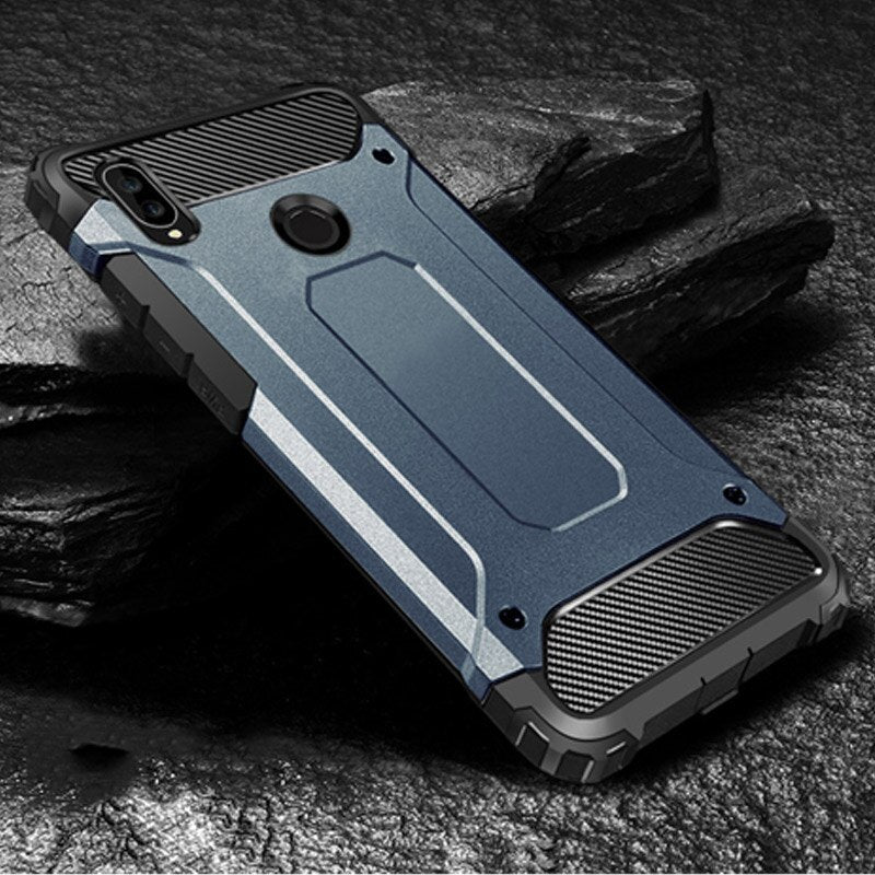 Luxury Armor Shockproof Case On The For Xiaomi Redmi 7 Note 6 7 Pro 5 Plus Soft Case Cover For
