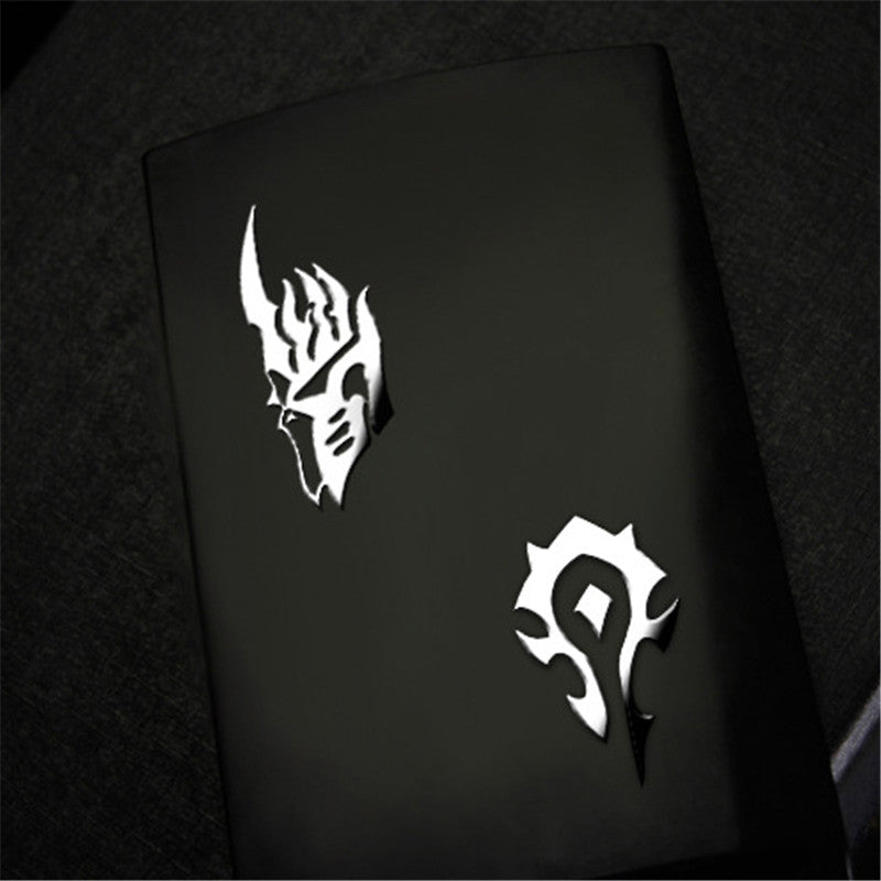 Luxury Gaming Metal Sticker with ABS Mechanical Keyboard Keycaps R4 Height For Horde Alliance