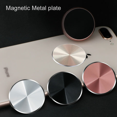 Metal Plate For Magnetic Car Phone Holder for Xiaomi Huawei Iron Sheet Sticky Magnet Disk Strong