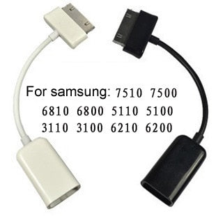 Mini Micro USB Host OTG Cable Adapter for Samsung Galaxy Tab 2 10.1 8.9 7.7 7.0 Note N8000 P7510
