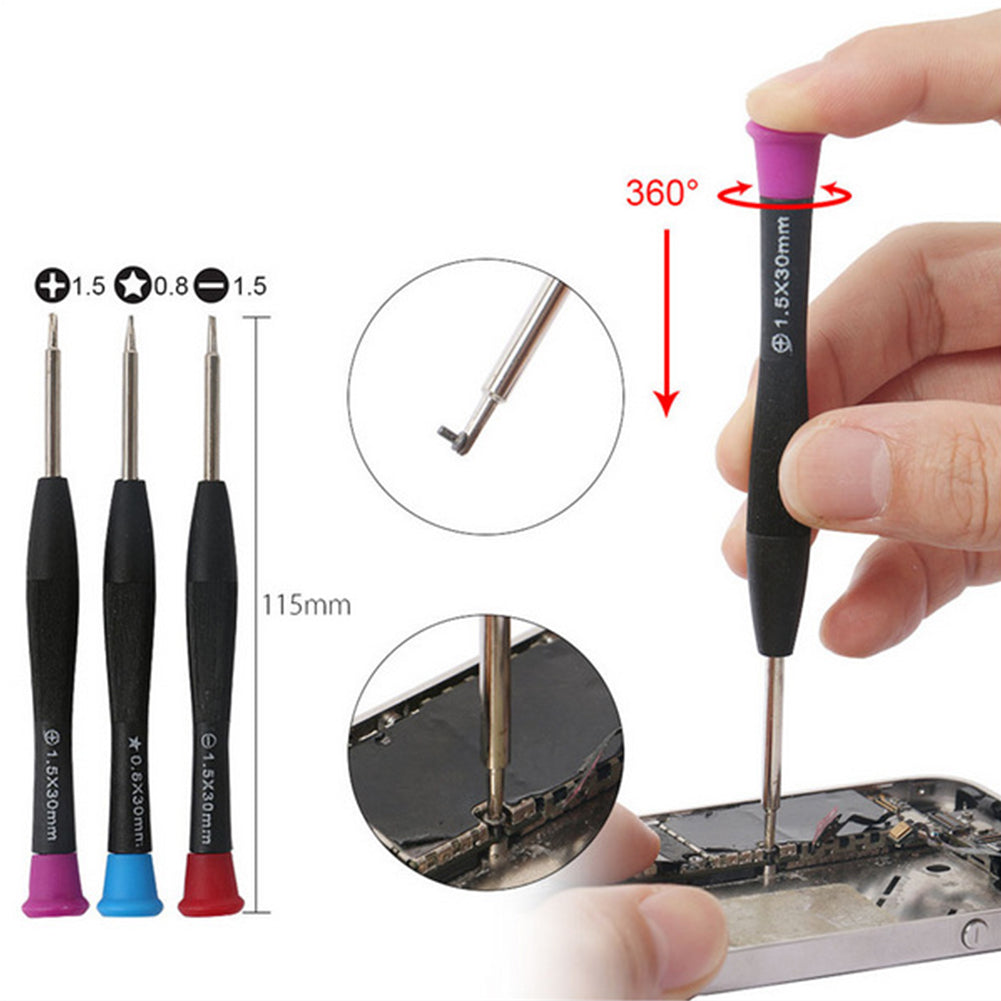 Mobile Phone Repair Set Hand Disassembly Screwdrivers Screen Opening Plier Suction Cup Smartphone