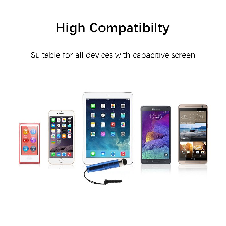 Mobile Phone Stylus Capacitive Screen Touch Pen for iPhone X 5 6 7 8 Plus iPad Samsung Galaxy S6
