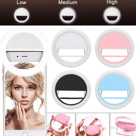Mobile phone Selfie Ring Light LED photographic Lighting