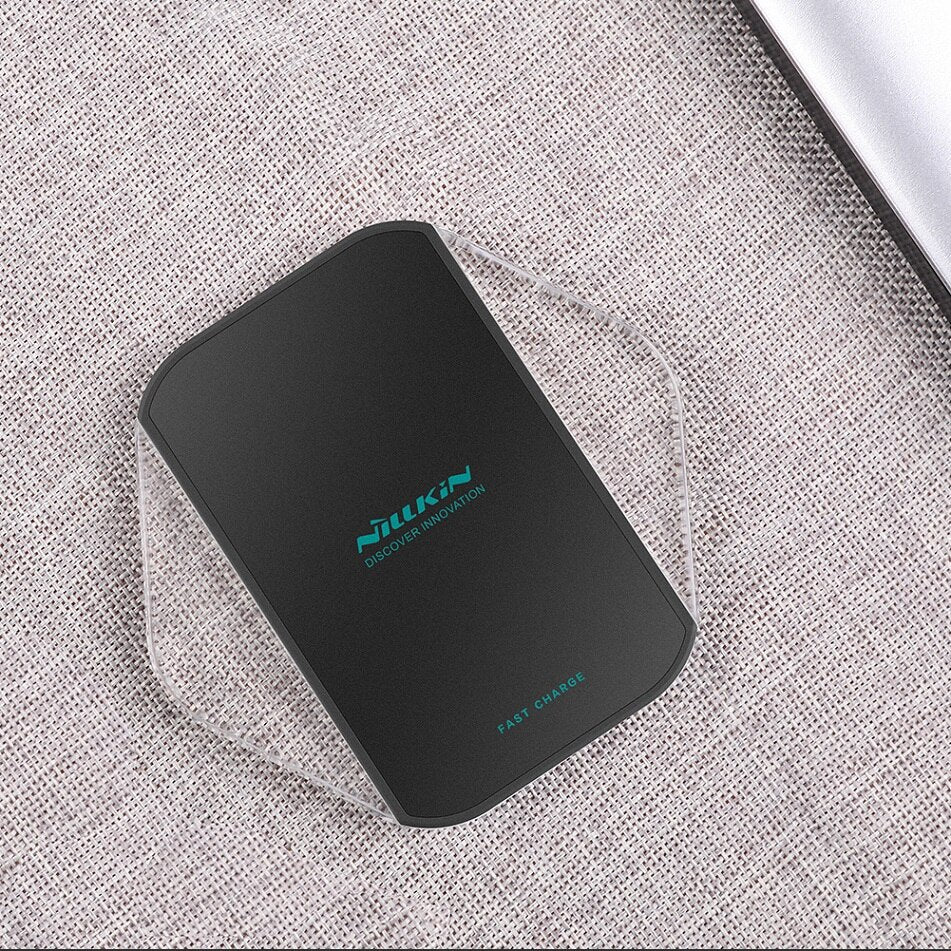 NILLKIN Qi Wireless Charger fast For Samsung Galaxy S10/S9/S8/S8 Plus/Note 8 for iPhone