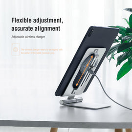 Tablet holder Foldable 15W Fast Wireless Charging stand