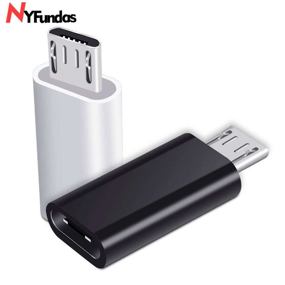 NYFundas usb c to micro usb adapter for Samsung Galaxy S7 S6 edge Huawei honor 8x Xiaomi Redmi