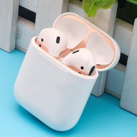 New For Apple Airpods Box Foil Dust Protection Sticker Metal Mixed Material for  Airpods DustProof
