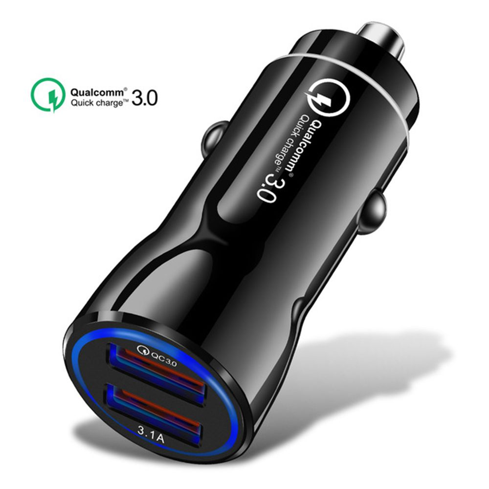 Olaf Car Charger Quick Charge 3.0 2.0 Mobile Phone Charger Fast Car Charger for iPhone XS Max