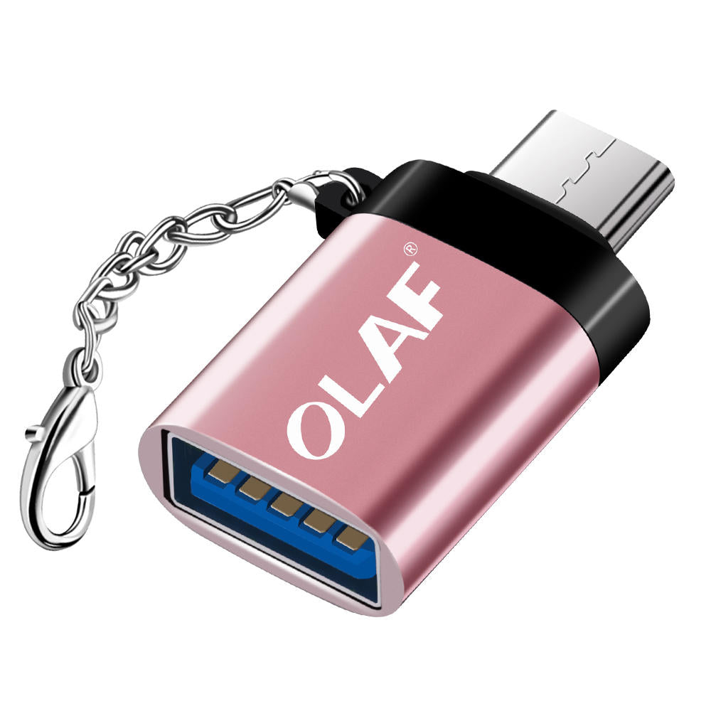 Olaf USB Adapter Micro USB OTG UBA to Micro USB UBA Converter OTG Cable Adapter for for Xiaomi Micro