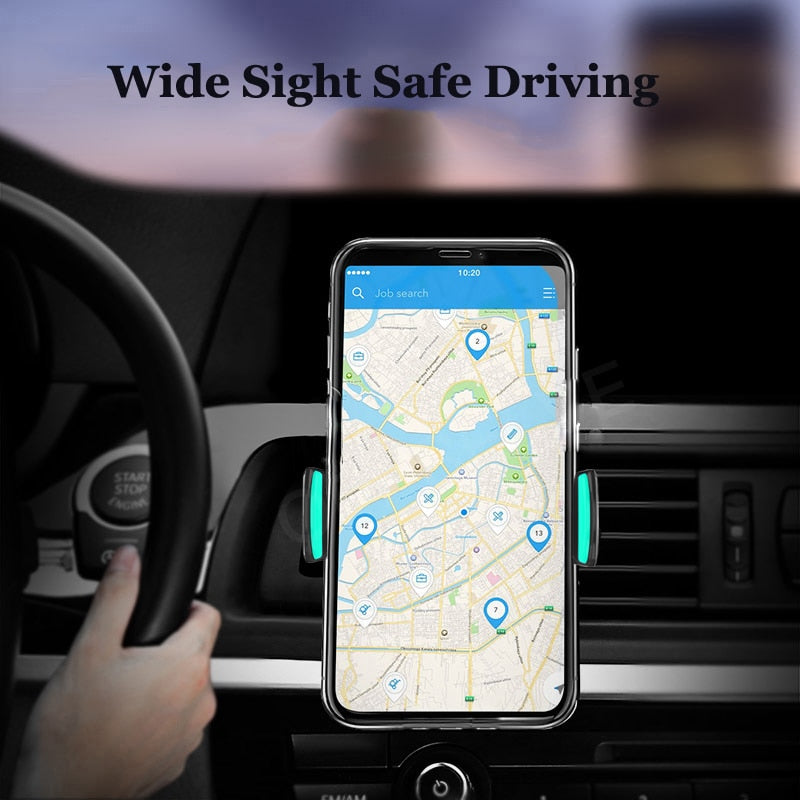 Oppselve Car Phone Holder For iPhone X Xs Max 8 Xr 360 Degree Ratotable Support Mobile Air Vent