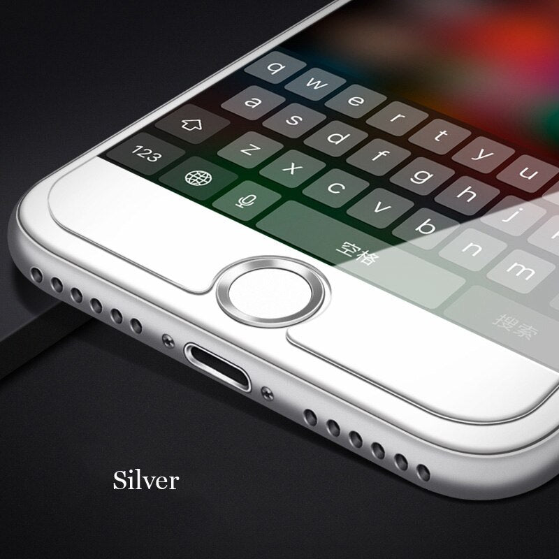 Oppselve Universal Home Button Sticker For iPhone 8 7 6 s 6s Plus 5 5s Fingerprint Touch ID Key Anti