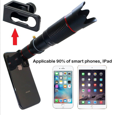 Orsda HD Mobile Phone 4K 36x Telescope Camera Optical Zoom Lens Cellphone Telephoto Lens es For