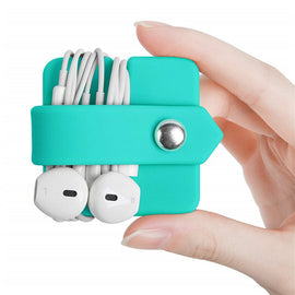 Phone Cable Organizer good quality Silicone Wrap Winder Cord   Manager Headset Headphone Earbud