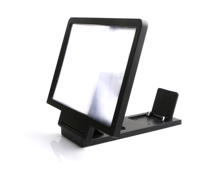 Phone Curved Screen Magnifier Cellphone Projector Enlarged Amplifier Mobile Bracket Desktop Holder