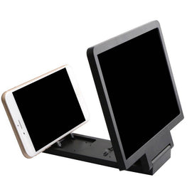 Phone Holder Screen Magnifier Cellphone Projector Enlarged Amplifier 3D HD Movie Video Stand