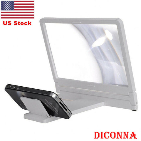 Phone Screen Magnifier Cellphone Projector Enlarged Amplifier Mobile Bracket Desktop Holder