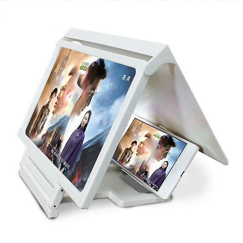 Phone Screen Magnifier Cellphone Projector Enlarged Amplifier Mobile Bracket Holder