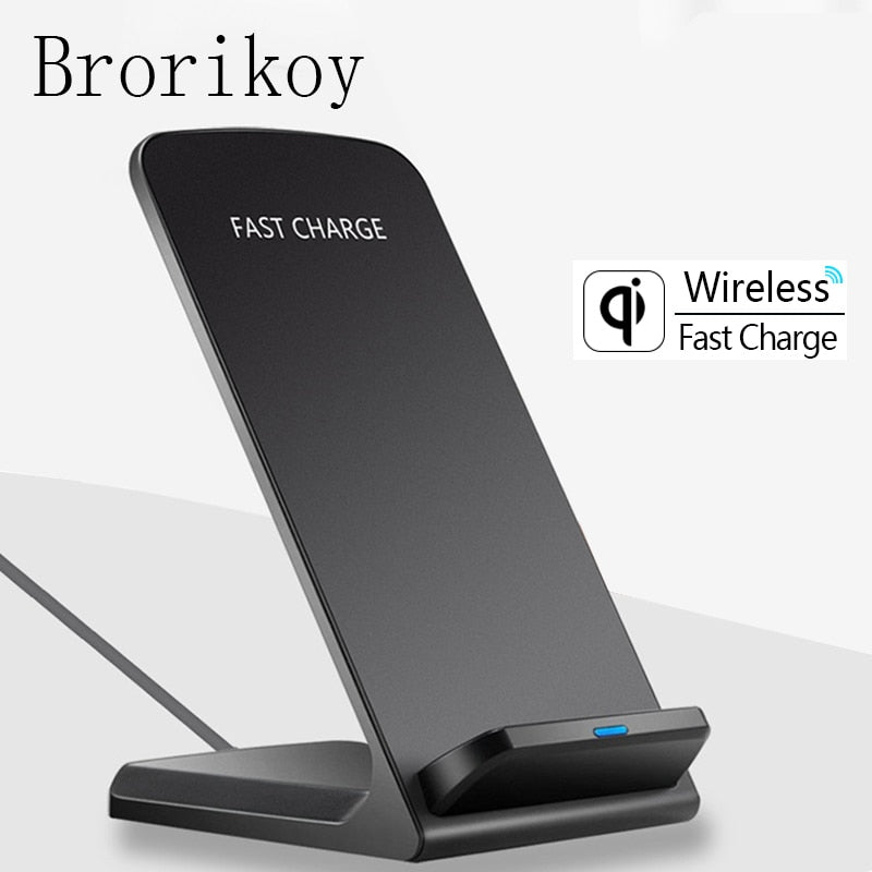 Qi Wireless Charger Dock USB Fast Charging for iPhone X Xs Samsung S8/S9 Note 8 Plus Adapter 10W