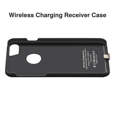 Qi Wireless Charger Receiver Case For iPhone 7 6 6s Mobile Phone Case Wireless Charging Pad Dock