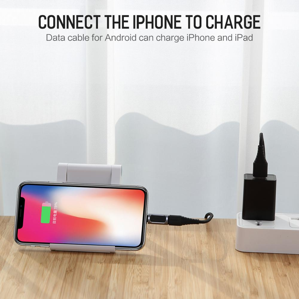 Type-c to Lightning Adapter Charger / Converter Micro to Lightning