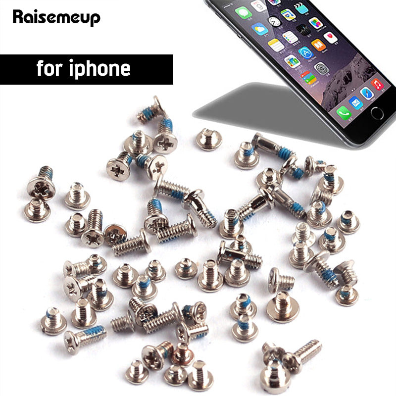 Screws Full Screw Set for iPhone 6 6s 6plus 4 4S 5 5S 5C Repair bolt Complete Kit Replacement