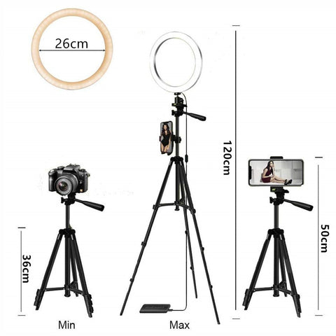 Selfie Ring Lamp Led Ring Light Selfie With Tripod Ring
