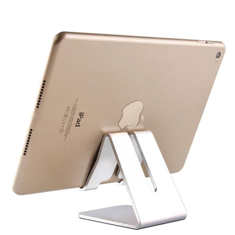 Universal Aluminum Tablet Stand for Apple iPad bracket Senior Metal Support