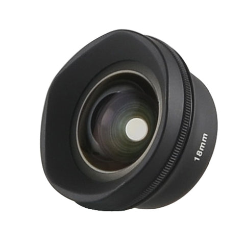 Sirui 18MM Wide Angle 10X MacroPhone Lens HD 4K Fisheye Telephoto Portrait Camera Phone Lenses for