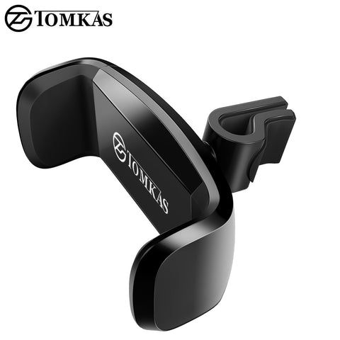 TOMKAS Mobile Phone Support Holder For Phone in Car Air Vent Mount Support Cellular Phone For Car