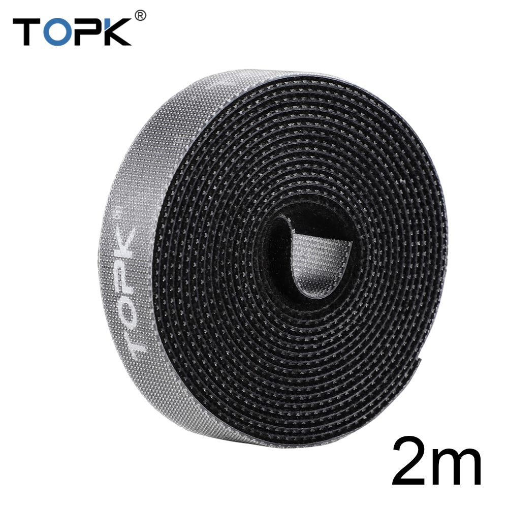 TOPK Cable Organizer 5M Wire Winder Holder Earphone Mouse USB Cable Winder Protector Management