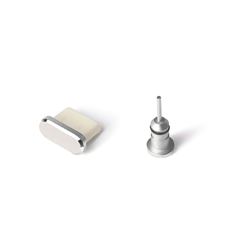 Type C Anti Dust Plug Set USB Type-C Port and 3.5mm Earphone Jack Plug For Samsung Galaxy S8 S9 Plus