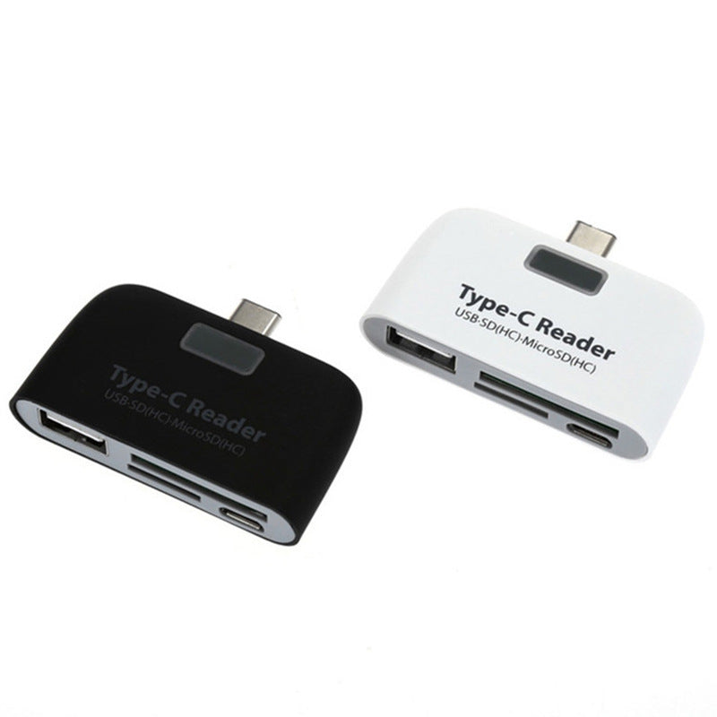 Type C OTG Adapter Usb C Docking Station Android Phoner With Power Supply Charging USB