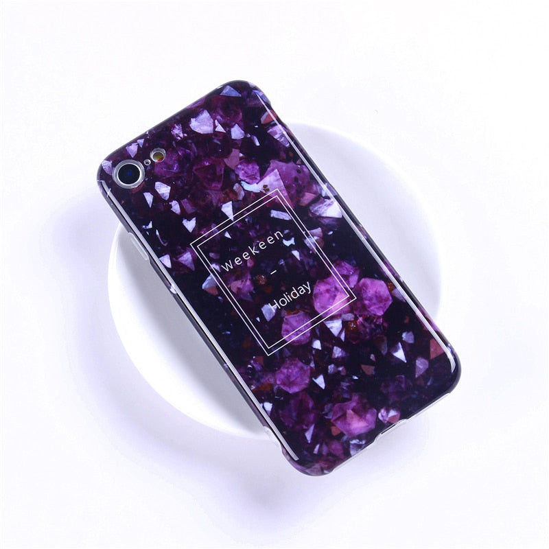 Tzomsze Luxury Marble Phone Case For iPhone 7 Case For iPhone X 7 6 6S 8 Plus Case Cover XS MAX XR