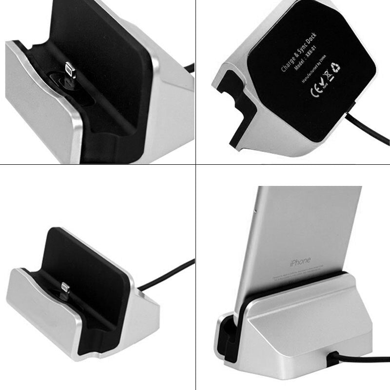 USB Charger Station Type C Head Phone Charger Dock Holder for Samsung S8 Xiaomi mi mix 2s mi6 mi5