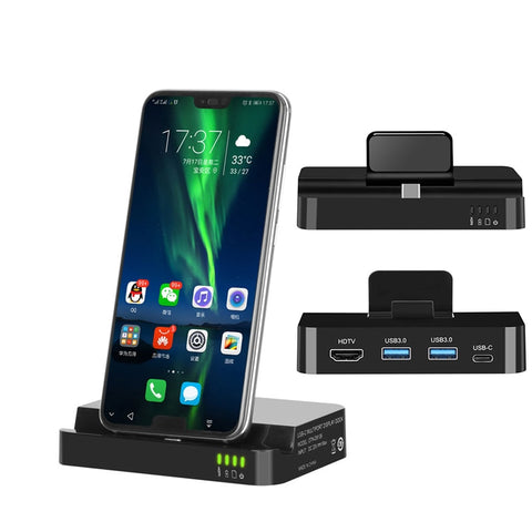 USB Type C HUB Docking Station For Samsung S10 S9 Dex Pad Station USB-C to HDMI Dock Power Adapter
