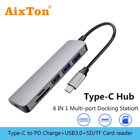 USB Type C dex docking station usb 3.0 Port HDMI OTG cable Sam sung dex station for S10 S9 Hua wei