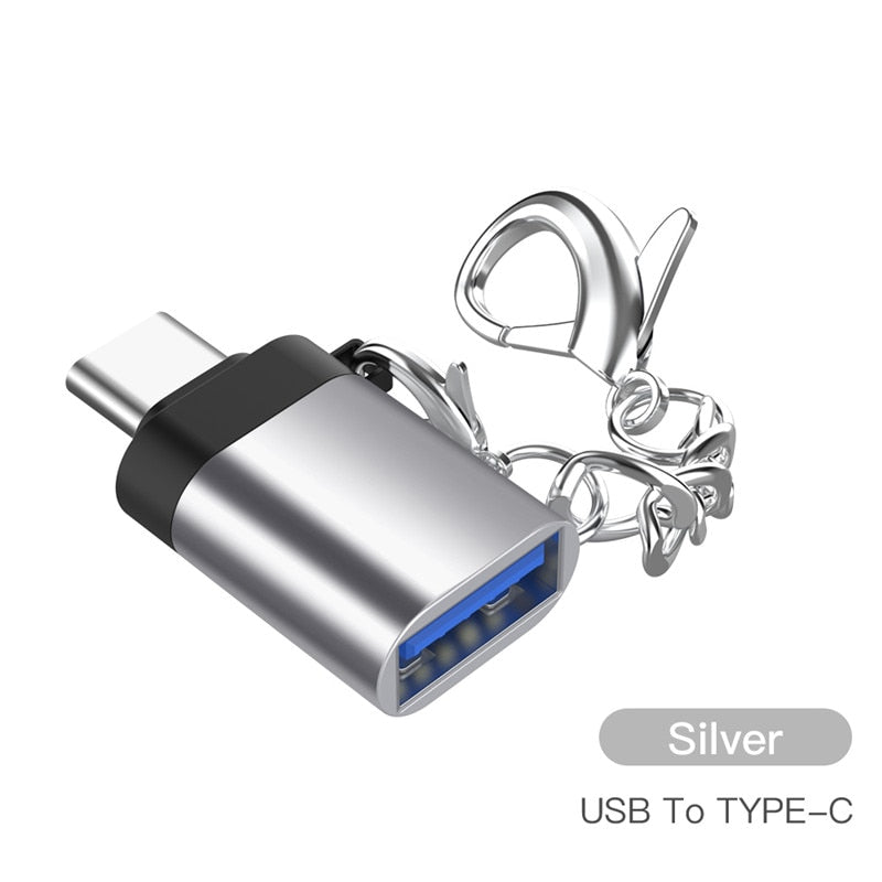 USB typec otg adapter Fast Type C to usb 3.0 converter usb-c type-c charge data sync cable for