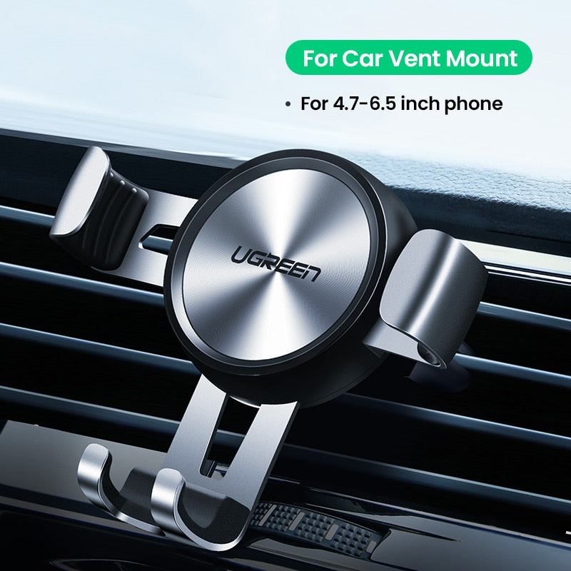 Ugreen Car Phone Holder for Mobile Smartphone Support In Car Cell Phone Stand for iPhone 11 Auto