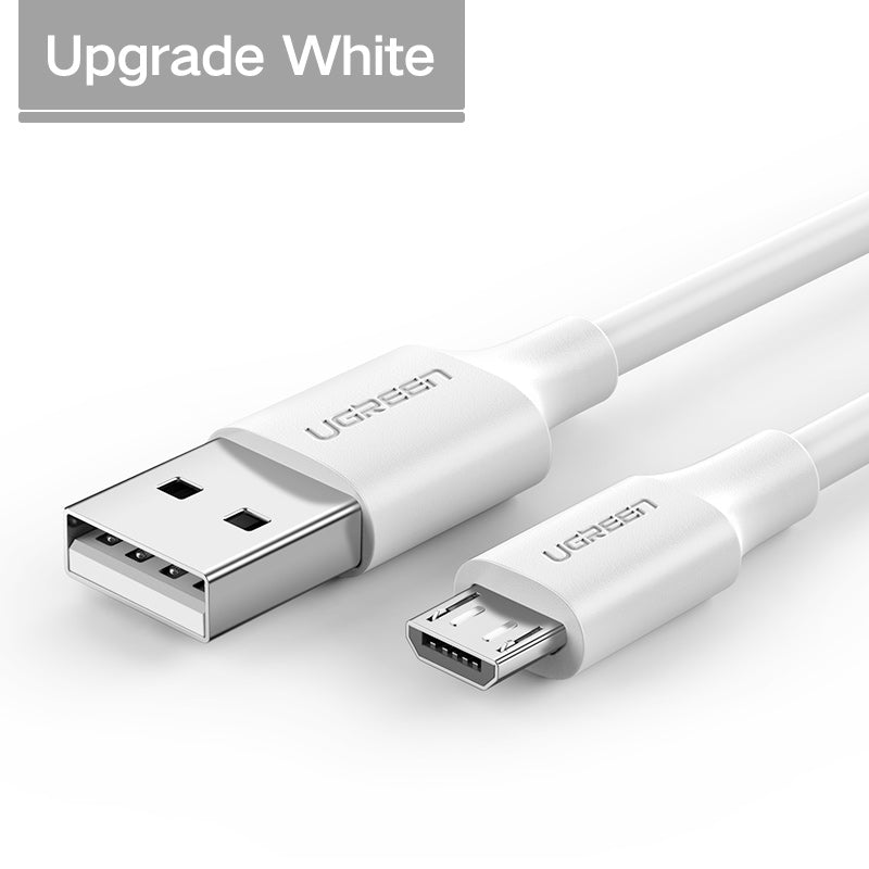 Ugreen Micro USB Cable 2.4A Fast Charging USB Data Cable Mobile Phone Charging Cable for Samsung