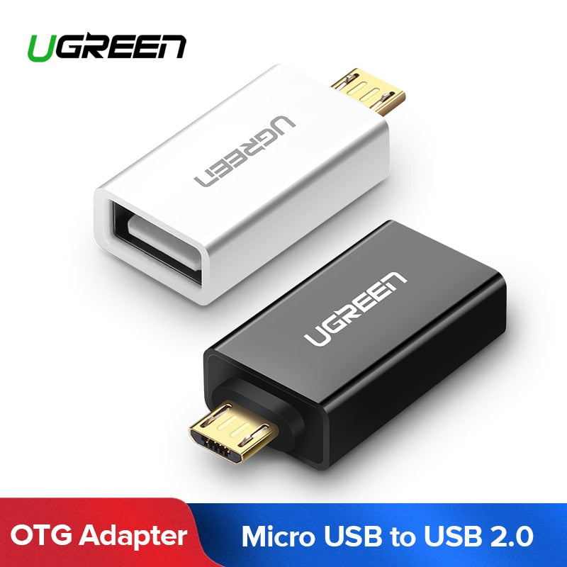 Ugreen OTG Cable Micro USB Male to USB 2.0 Female OTG Adapter Converter for Samsung Galaxy S7 Galaxy