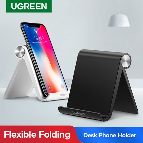 Ugreen Phone Holder Stand Mobile Smartphone Support Tablet Stand for iPhone Desk Cell Phone Holder