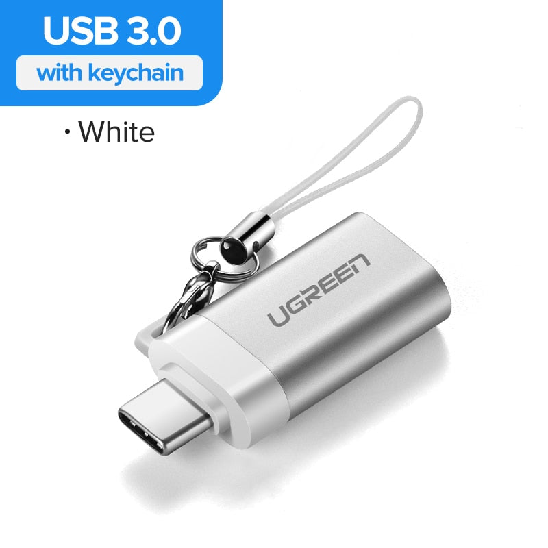 Ugreen USB C Adapter Type C to USB 3.0 Adapter Thunderbolt 3 Type-C Adapter OTG Cable For Macbook