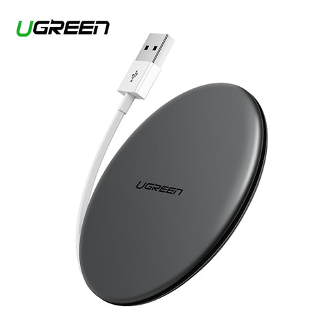 Ugreen Wireless Charger 10W 7.5W Qi Wireless Charging for xiaomi mi 9 iPhone X XS 8 XR Samsung S9 S8