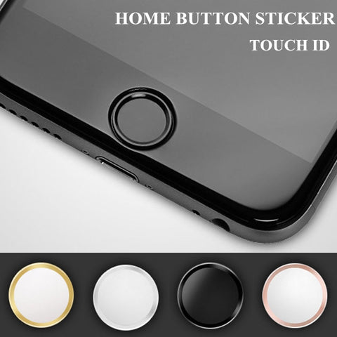 Ultra Slim Fingerprint Support Touch ID Metal Home Button Sticker For iPhone 7 7PLUS 6 6S 6PLUS 5 5S