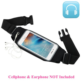 Universal 6 inch Waterproof Sport GYM Running Waist Belt Pack Phone Case Bag Armband for iPhone X 8 7 5 6 6s 7 8 Plus X Xs XR