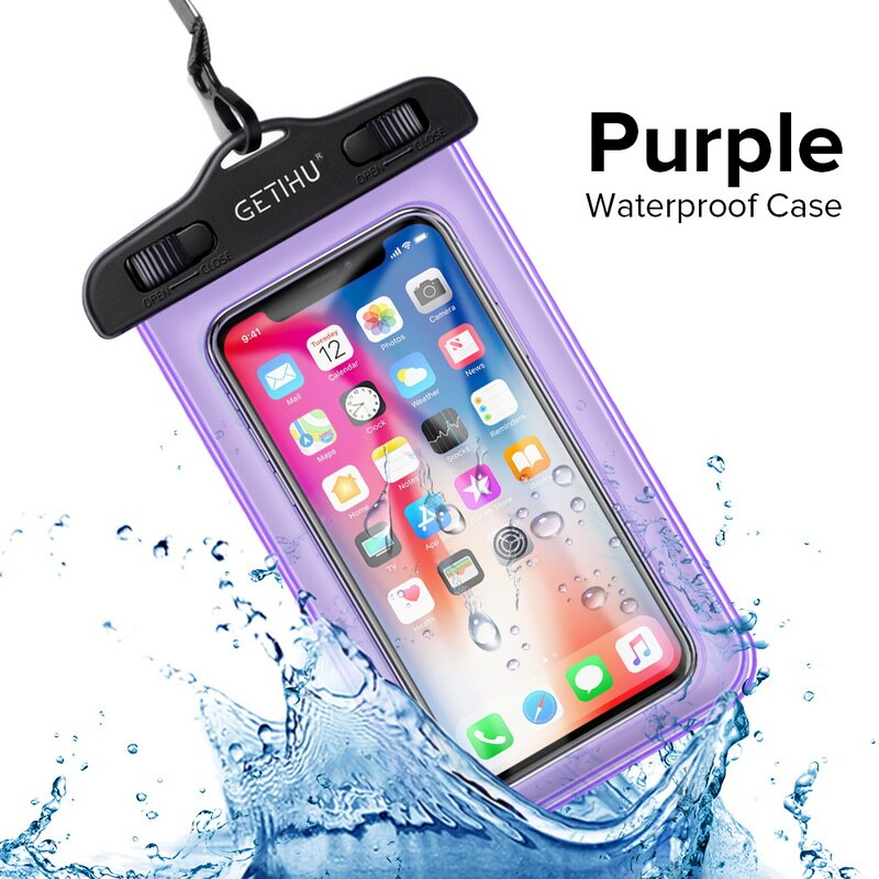 Universal Cover Waterproof Phone Case For iPhone XS MAX 8 7 6 6S Coque Pouch Bag Case For Samsung