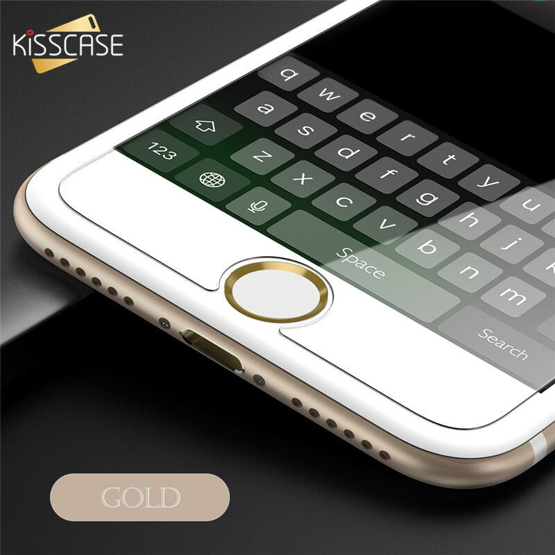 Universal Home Button Sticker For iPhone 8 7 6 6s Plus 5s 5 5c SE 4s Sensitive Fingerprint Touch