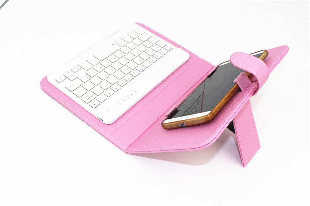 Universal Leather Wireless Keyboard Case