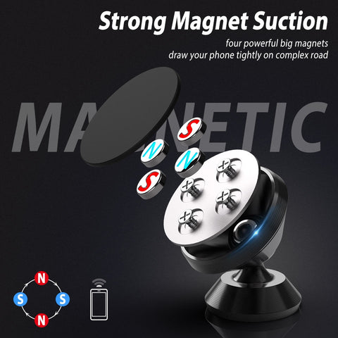 Universal Magnetic Phone Car Dashboard Holder for iPhone XS X Mobile Phone GPS Magnet Car Air Vent
