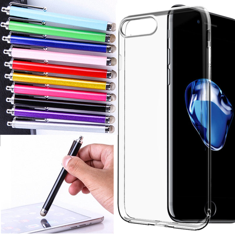 Universal Metal Mesh Micro Fiber Tip Touch Screen Stylus Pen for iPhone for Samsung Smart Phone